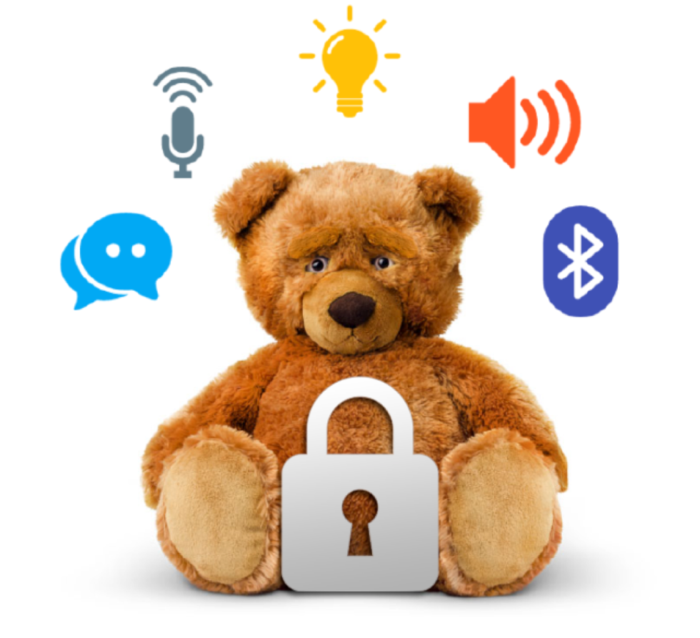 A secure smart toy